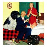 """""""Dr. and the Dog"""", November 21, 1953 Giclée par Richard Sargent"""
