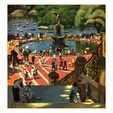 """Boating in Central Park""  July 11  1953"