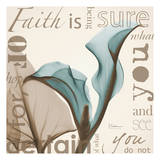 Faith  Blue Calla Lily