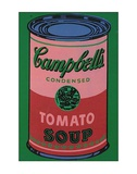Colored Campbell's Soup Can  c1965 (red & green)