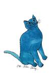 "Cat From ""25 Cats Named Sam and One Blue Pussy""  c 1954 (One Blue Pussy)"