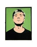 Self-Portrait, c.1964 (on green) Reproduction d'art par Andy Warhol