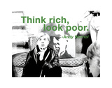 Think Rich  Look Poor
