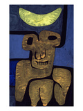 Moon of the Barbarians; Luna Der Barbaren Giclée par Paul Klee