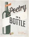 Poetry in a Bottle Reproduction d'art par Luke Stockdale