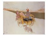 A Country Party or the English Cart; Partie De Campagne Ou La Charrette Anglais