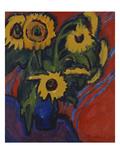 Sunflowers; Sonnenblumen