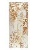 Hiver Giclée par Alphonse Mucha