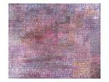 Cathedrals; Kathedralen Giclée par Paul Klee