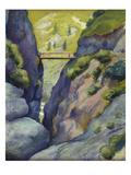 Valley in Tegernse; Schlucht in Tegernse