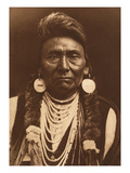 Chief Joseph-Nez Perce, 1903 Giclée par Edward S. Curtis