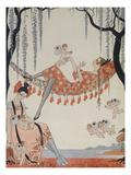 What Do Young Women Dream Of; a Quoi Revent Les Jeunes Filles Giclée par Georges Barbier
