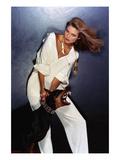 Vogue - February 1977 - Beauty and the Beast Photo premium par Chris Von Wangenheim