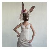 Vogue - February 1965 - Bunny Mask Reproduction d'art par Gianni Penati