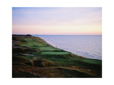 Whistling Straits Golf Club  sunset