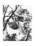 Vogue - July 1953 - Ballgown Takes Flight