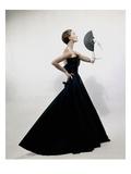 Vogue - November 1949 - Model wearing Christian Dior 1949