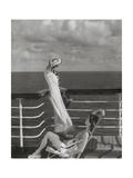 Vogue - July 1934 - Cruising to Hawaii