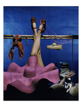 Vogue - January 1944 - Recreational Activities