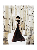 Vogue - October 1999 - Winter Among the Trees Photo premium par Arthur Elgort