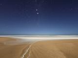 Alpha and Beta Centauri Seen from the Beach in Miramar  Argentina