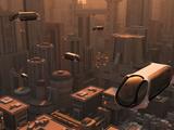 A Conceptual Image of a Futuristic City