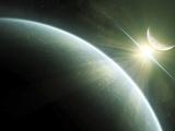 Artist's Concept of Epsilon Eridani  a Possible Habitable Planet
