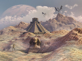 An Alien World with Earth-Like Structures