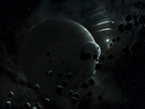 Illustration of Tyche  a Hypothetical Planet That Could Exist In the Oort Cloud in Our Solar System