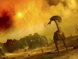 Artist's Concept of an Alien Planet