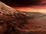 Dark Dunes March Along the Floor of Gale Crater  Mars