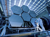 A James Webb Space Telescope Array Being Tested in the X-Ray and Cryogenic Facility