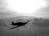 A Hawker Hurricane Aircraft in Flight