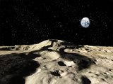 An Ancient Lava Flow on Earth's Moon