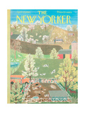 The New Yorker Cover - April 29  1961