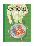 The New Yorker Cover - July 7  2003