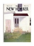 The New Yorker Cover - July 15  1985