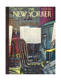 The New Yorker Cover - April 30  1955
