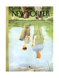 The New Yorker Cover - July 12  1958