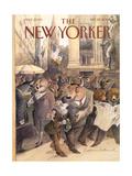 The New Yorker Cover - September 25  2000