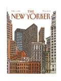 The New Yorker Cover - February 1  1982