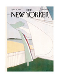 The New Yorker Cover - April 28  1980