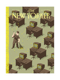 The New Yorker Cover - October 25  2004