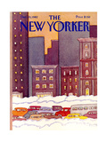 The New Yorker Cover - December 13  1982