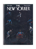 The New Yorker Cover - February 8  1958
