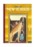 The New Yorker Cover - March 10  2003