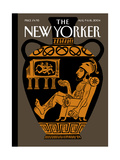 The New Yorker Cover - August 9  2004