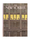 The New Yorker Cover - March 21  1983
