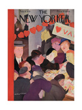 The New Yorker Cover - February 9  1935