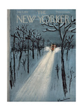 The New Yorker Cover - January 11  1958